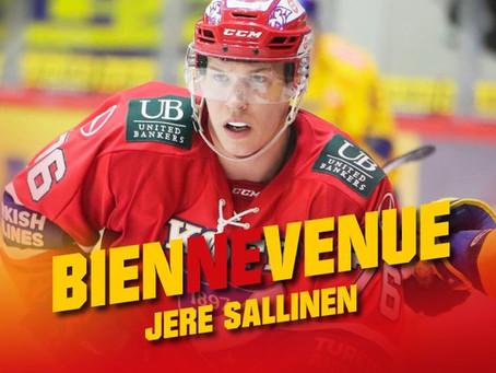 Jere Sallinen - un an avec Bienne