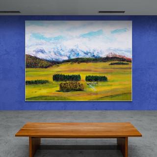 Préalpes I - CS9521 - Acrylique 40 x 30