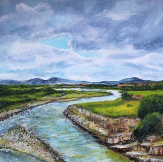 Paysage aux alentours de Tarija - CS5721 - Acrylique 40 x 40