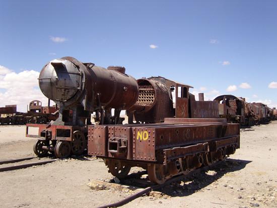 Uyuni - le cimetière des trains