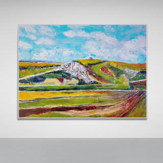 Entre ciel et terre II - CS9621 - Acrylique 40 x 30