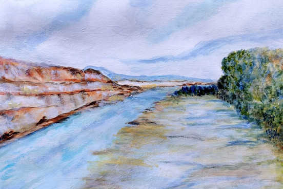Canyon Study I - CS5121 - Acrylique 40 x 30