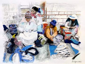 Les marchandes de poissons - Copacabana