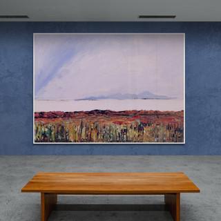 Paysage imaginaire I - CS9921 - 40 x 30 sur papier toilé