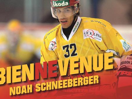 Noah Schneeberger dès maintenant au HC Bienne