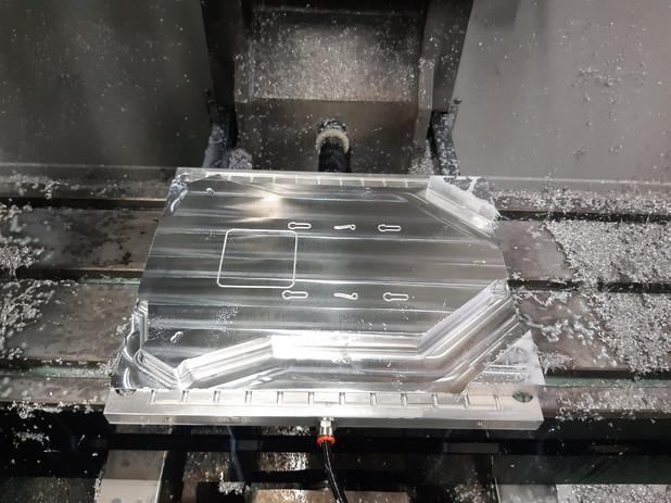 Saxon Inspector CNC Machined Fuselage