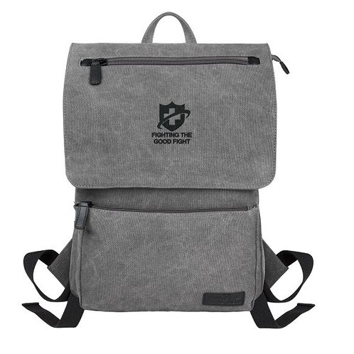 Kenneth Cole® Canvas Compu-Backpack