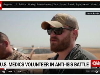 2 US medics volunteer in anti-ISIS battle (video)