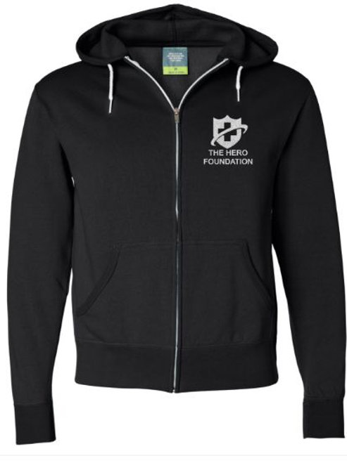 Independent Trading Co. Full-Zip Hooded Sweatshirt