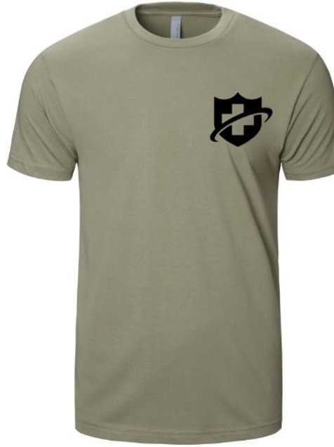 Next Level Premium Ink Printed Fitted Short Sleeve Crew