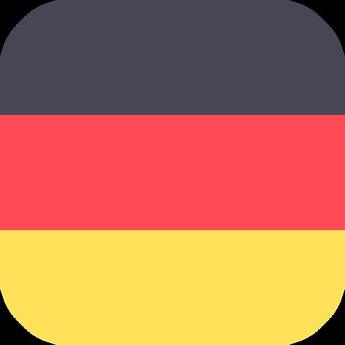 German classes A2+ (October)
