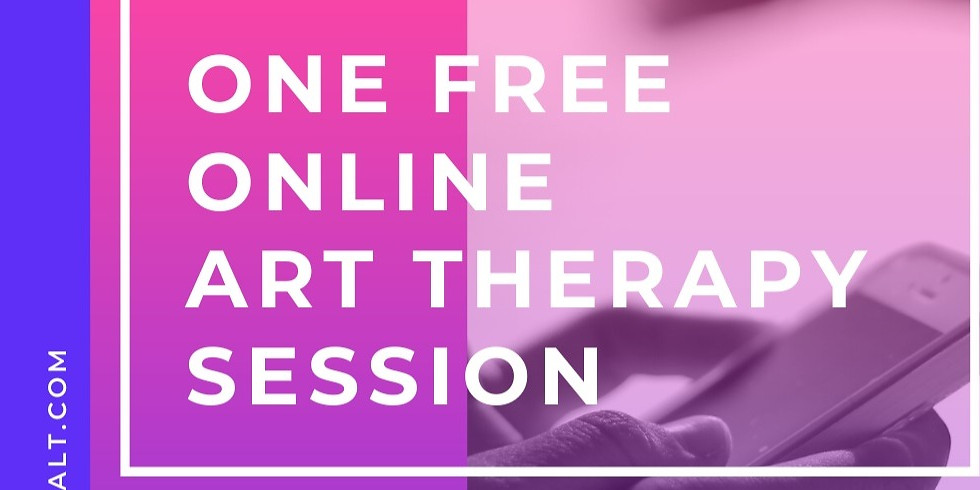 ONE Free Art Therapy SESSION online