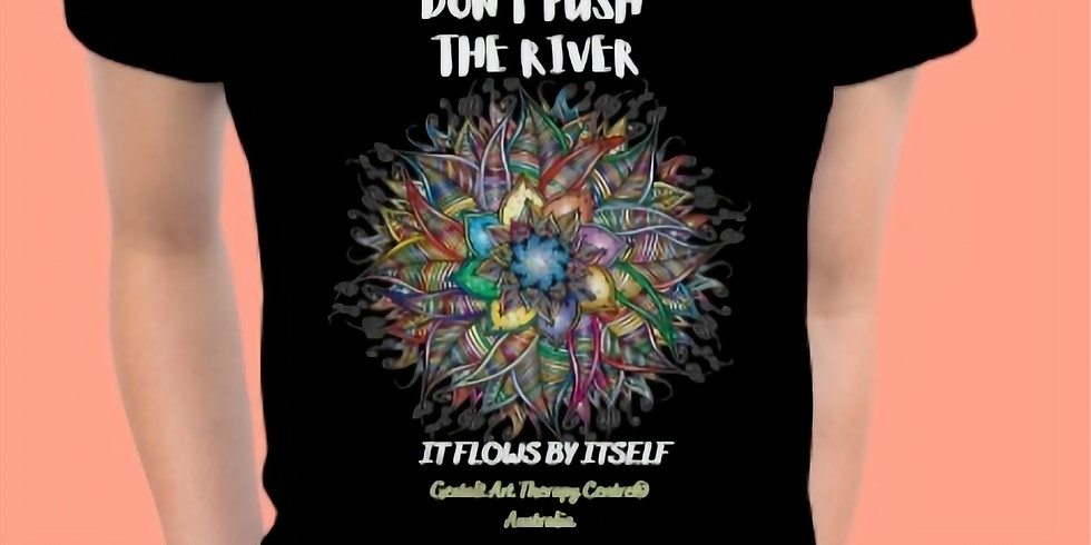 """ORDER a T-shirt """"DON'T PUSH THE RIVER..."""""""