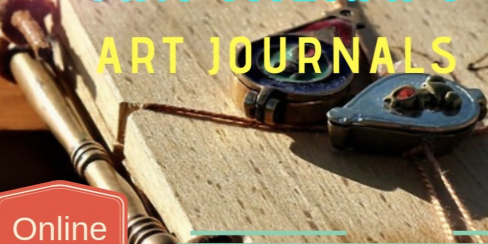 ONLINE Art Therapy and Art Journals