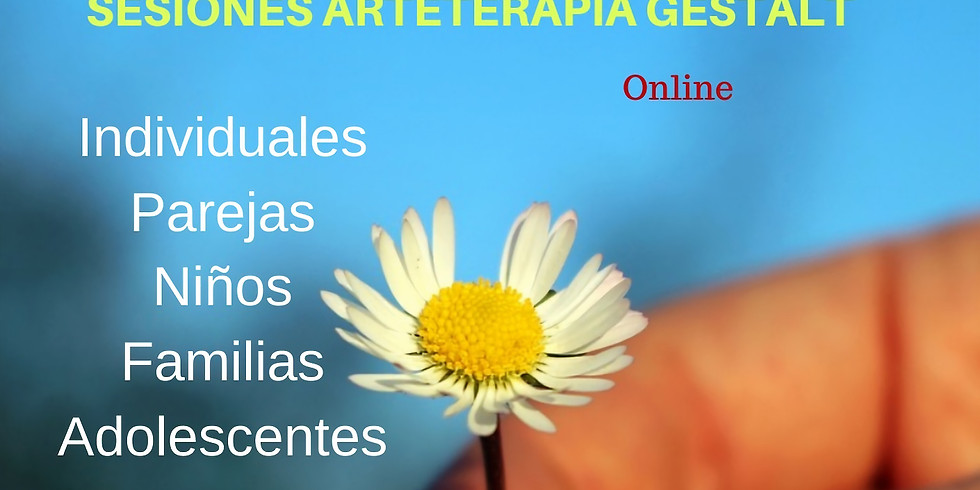 2021 Sesiónes online Arteterapia Gestalt