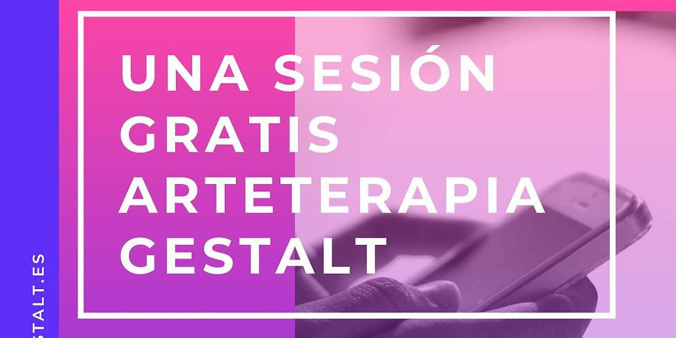 Una Sesión gratis online Arteterapia Gestalt en idioma Español