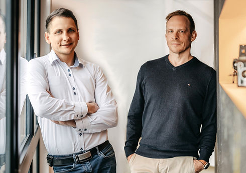 Christoph Wilk und Andreas Richter