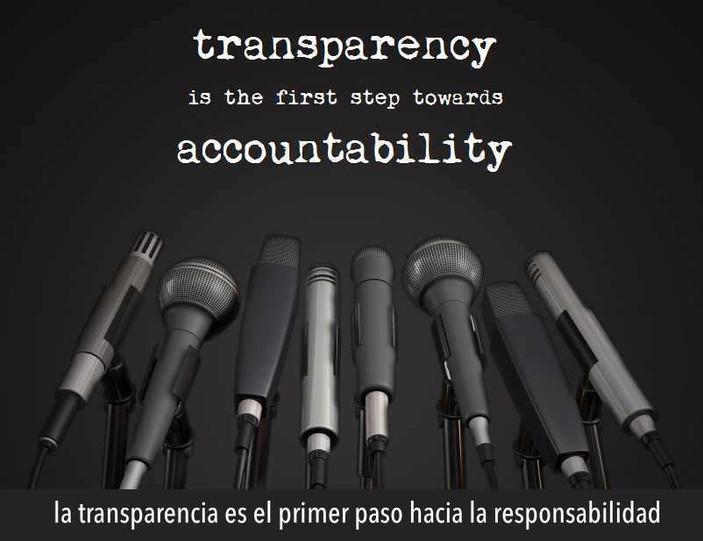 Transparencia y responsabilidad