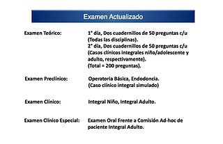 revalidar título extranjero universidad chile odontología