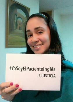 #YoSoyElPacienteInglés