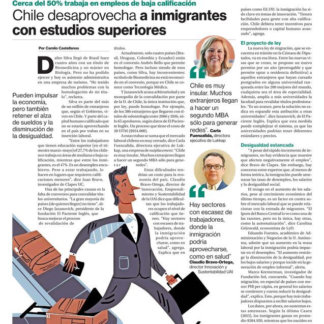 Diario La Segunda - Julio 2018