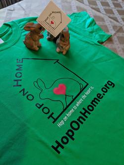 Hop On Home T-shirt
