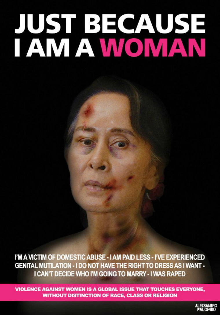 Just because I am a woman poster