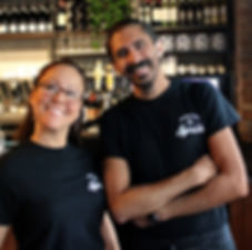 Two Smiling Employees