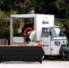 Spris Ape Mobile Pizza Van