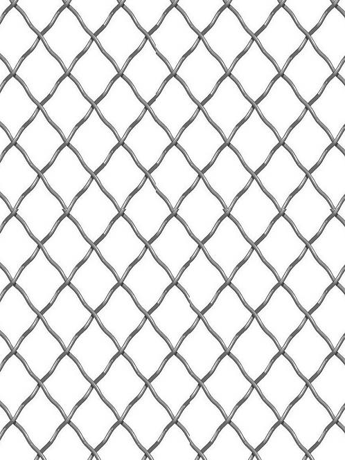 "1 ½"" X 1 ½"" Diamond Woven Wire Mesh"