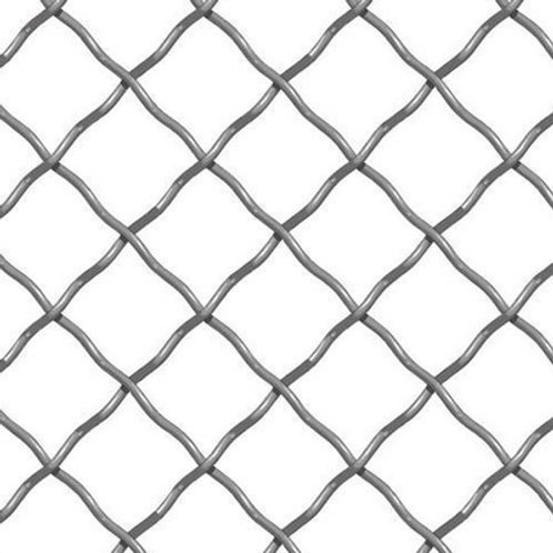 "2"" X 2"" Diamond Woven Wire Mesh"