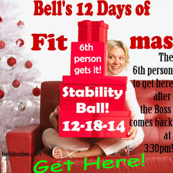 On the 6th day of fit-mas