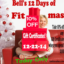 On the 10th day of fit-mas