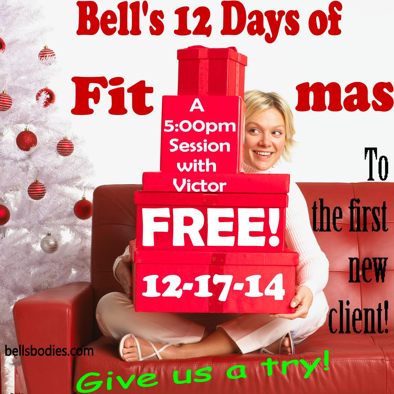 On the 5th day of fit-mas