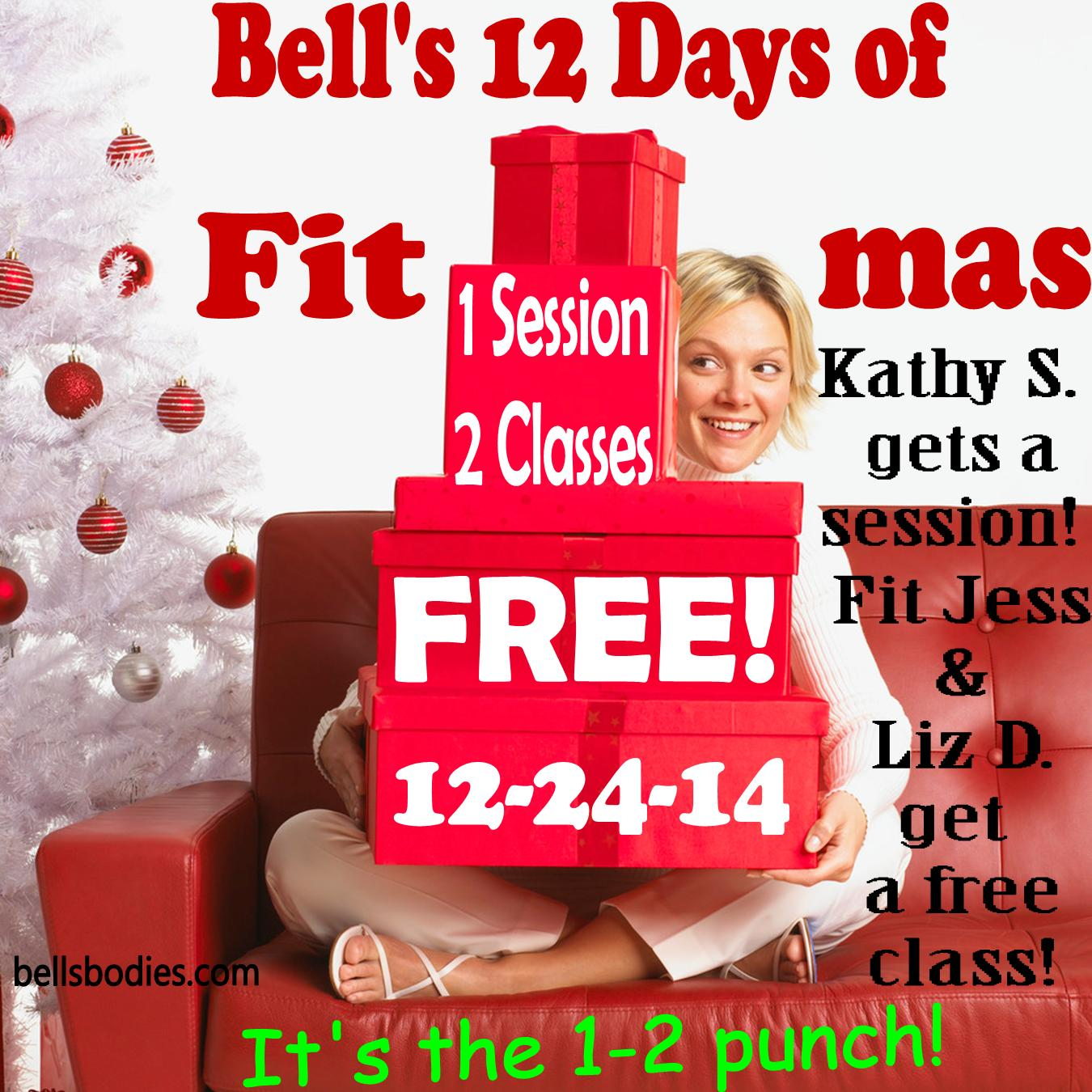 On the 12th day of fit-mas
