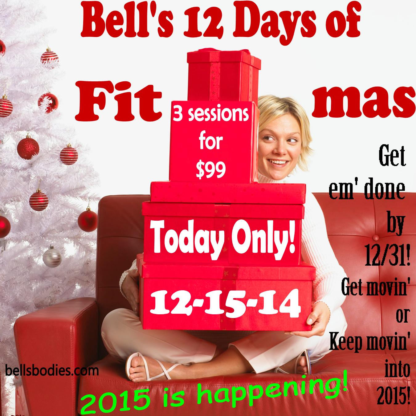On the 3rd day of fit-mas