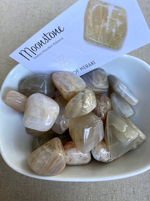 Moonstone Tumbled Stone