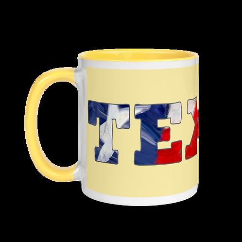 TEXAS Mug with Color Inside