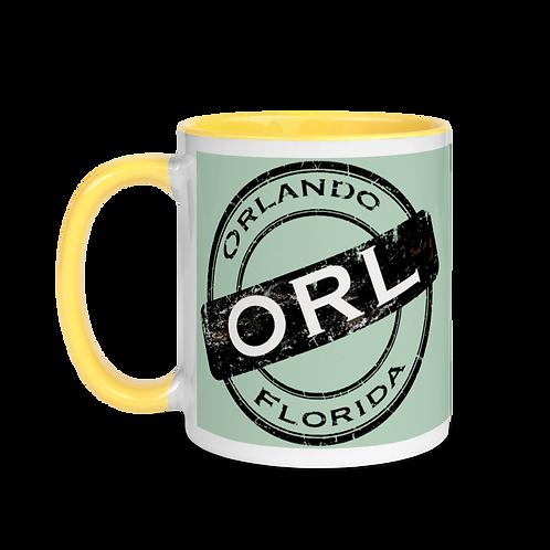 ORLANDO STAMP Mug with Color Inside