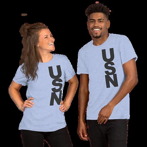 USN (dk grey) Short-Sleeve Unisex T-Shirt
