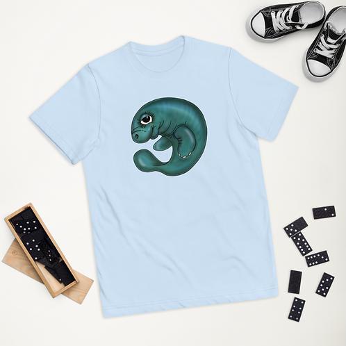 """BUOY THE MANATEE"" Youth jersey t-shirt"