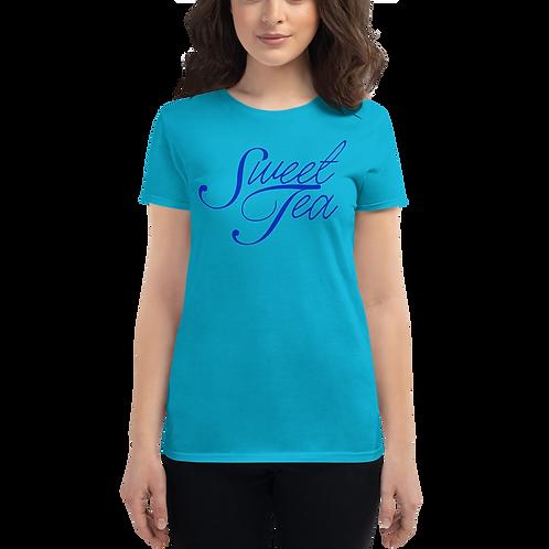 Sweet Tea Blue Women's short sleeve t-shirt