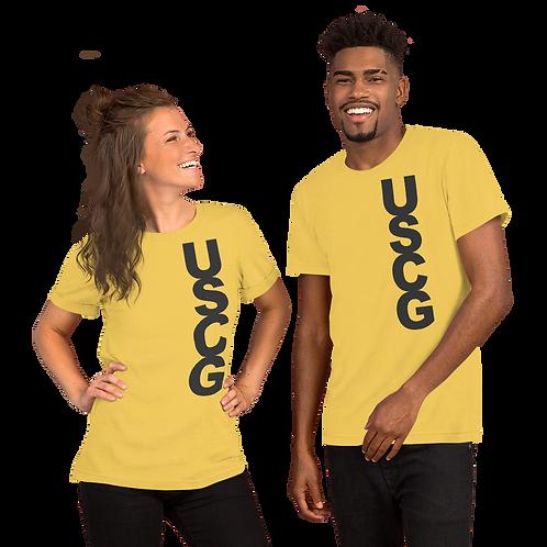 USCG (dk grey) Short-Sleeve Unisex T-Shirt