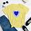Thumbnail: Blue Heart Women's short sleeve t-shirt