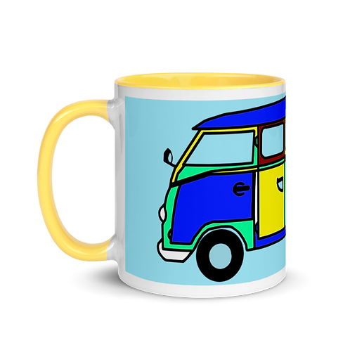 BUS Mug with Color Inside