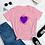 Thumbnail: spinning heart Women's short sleeve t-shirt