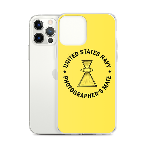 USN Photographer's Mate iPhone Case