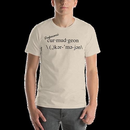 Curmudgeon Short-Sleeve Unisex T-Shirt
