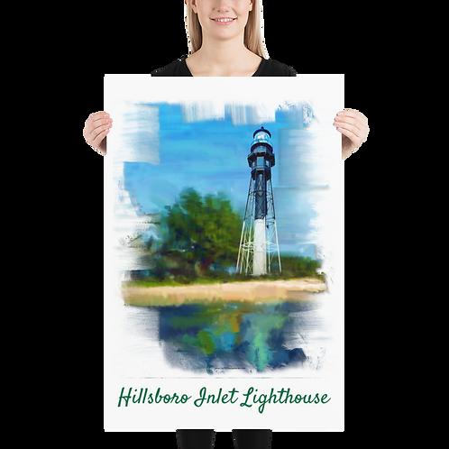 Hillsboro inlet Lighthouse Poster