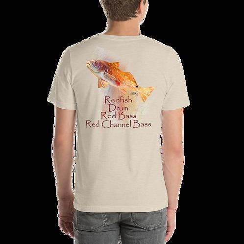 Redfish Short-Sleeve Unisex T-Shirt